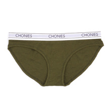 [Chonies Brand] Ribbed Brief in Olive