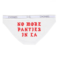 [Chonies Brand] No More Panties in LA Classic Brief - White