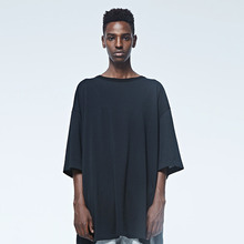 [DVINE STUDIO] OVER FIT T - SHIRTS (BLACK)
