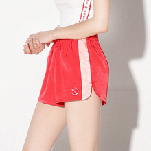 [PAIN OR PLEASURE] Rose Line Shorts - Red