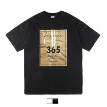[45%sale] [WOLPENDER] (Unisex) Day Gold Printing Short sleeves T-Shirt