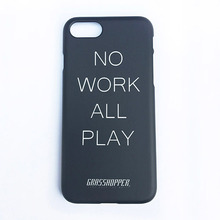 [GRASSHOPPER] No Work I Phone Case -Black