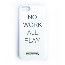 [GRASSHOPPER] No Work I Phone Case -White