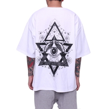 [FADE6] Eye Boxy T-Shirt White