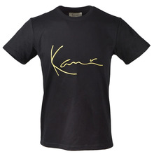 [Karl Kani] Iconic Signature T-Shirts - Black