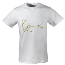 [Karl Kani] Iconic Signature T-Shirts - White