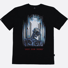 [NOT4NERD]Skull T-Shirt - Black