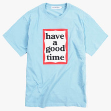 [Have a good time] Frame S/S Tee - Light Blue