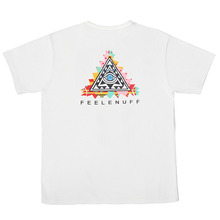 [Feel Enuff] Pyramid T-Shirts - White