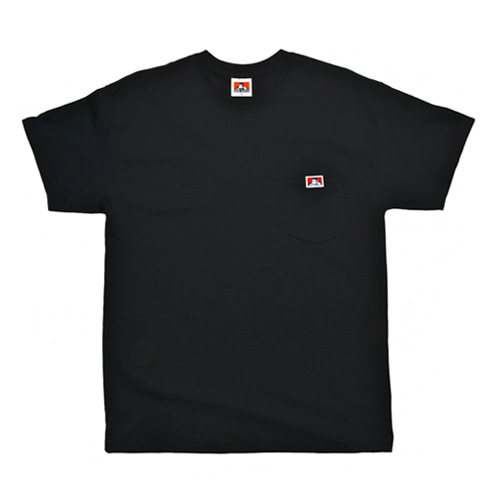 [Ben Davis] Pocket Tee - Black