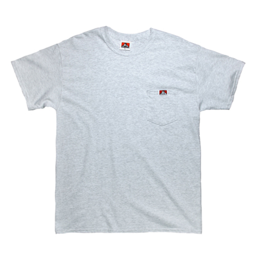 [Ben Davis] Pocket Tee - Ash Grey