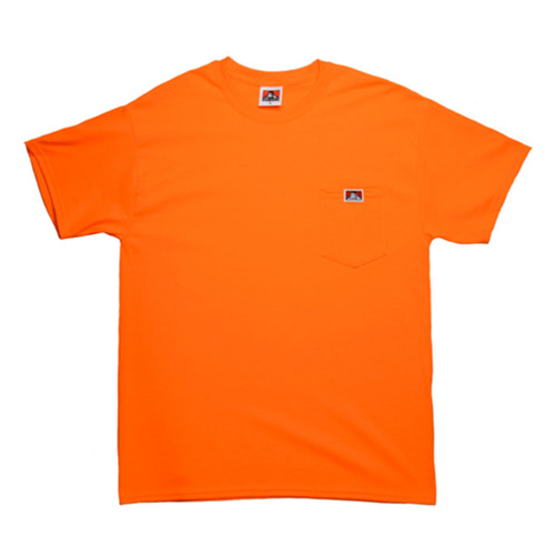[Ben Davis] Pocket Tee - Orange