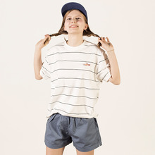 [30%세일][Lebenea] Lovely Ssalmon tee - Stripe