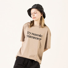 [레베니아] Dynamic summer tee - Beige
