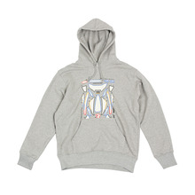 [YESEYESEE] Empty Decal Hoodie (Gray)