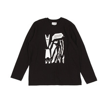 [YESEYESEE] Solid Decal L/S (Black)