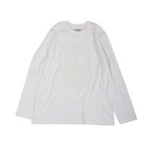 [YESEYESEE] Solid Decal L/S (White)