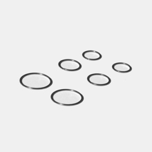 [RUSHOFF] Basic Surgical Piercing Ring (Surgical Steel)