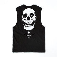 [MOMENTBYM] Exist sleeveless t-shirts, Black
