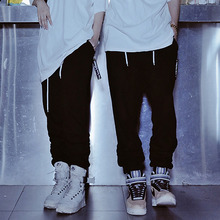 [A.Clown] Jogger Baggy Shirring Pants