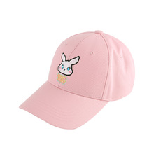 [64%sale] [WOLPENDER] (Unisex) Berrybunny Twill Ball-Cap (Pink) [W-6]