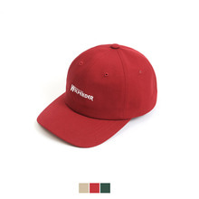[58%sale] [WOLPENDER] (Unisex) Endername Twill Ball-Cap (Red) [STYLE NO : 5]