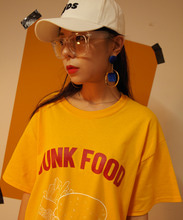 [199XKIDS] JUNK FOOD T-SHIRTS - YELLOW
