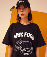 [199XKIDS] JUNK FOOD T-SHIRTS - BLACK