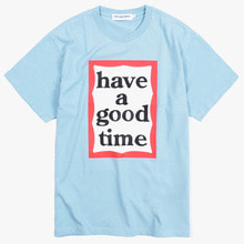 [Have a good time] Big Frame S/S Tee - Blue