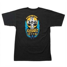 [DOGTOWN] Bulldog 1976 T-SHIRT - Black