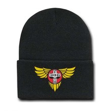[DOGTOWN] Embroidered Wings Beanie - Black