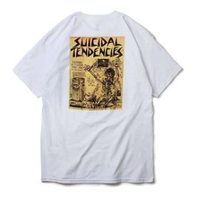 [DOGTOWN] Suicidal Punk Flyer T-Shirt - White