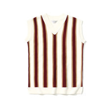 [LAFUDGESTORE] [퍼퓸니트] Color Knit Vest_Wine