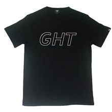 [Genuine heart] GHT logo T-shirt - Black