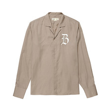[BC by beyondcloset] [COLETTE EDITION] CLASSIC LOGO OPEN COLLAR SHIRTS BEIGE