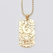 [Divine925] Divine925 X OverFlow Collabo Pendant-Brass