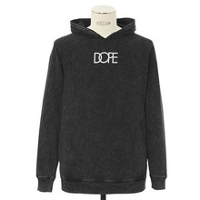 [DOPE] Mineral Wash Logo Pullover