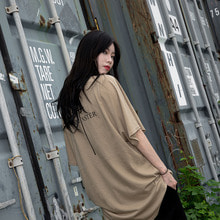 [YORKMINSTER] Name Short Sleeve - Beige