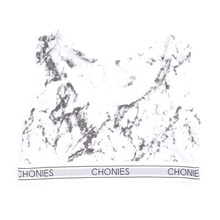 [CHONIES] Marble Sports Bra - White