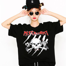 [SUPER DRINK] Miscreant Scratch Overfit T-Shirt-Black