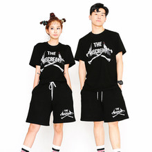 [SUPER DRINK] Cross Bones T-Shirt-Black