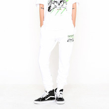 [SUPER DRINK] Miscreant Sweat Jogger Pants-White