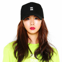 [SUPER DRINK] Super Drink Basic Logo 5 Panel Ballcap-Black