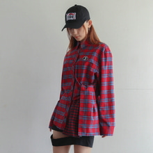 [PLASMA SPHERE] Flannel Shirt - 2 Color