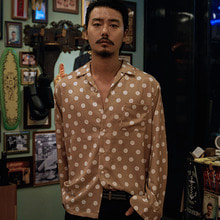 [GOZER] OPEN DOT DOT SHIRT_BEIGE