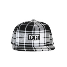 [DOPE] 35%할인 Plaid Box Logo Snapback