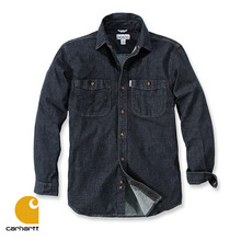 [Carhartt] RUGGED FLEX PATTEN DENIM SHIRT