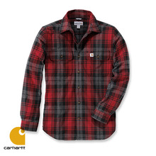 [Carhartt] HUBBARD SLIM FIT FLANNEL SHIRT