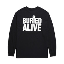[Buried Alive] Ba Standard Long Sleeve Tee Black