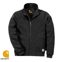 [Carhartt] MIDWEIGHT MOCK NECK ZIP SWEATSHIRT (BLACK)
